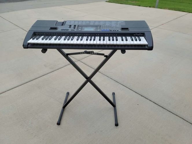 Casio CTK-720 with stand and adapter plug for sale in North Salt Lake , UT