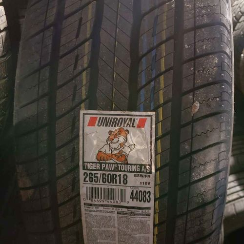 265/60r18 uniroyal tiger paw touring as for sale in Salt Lake City , UT