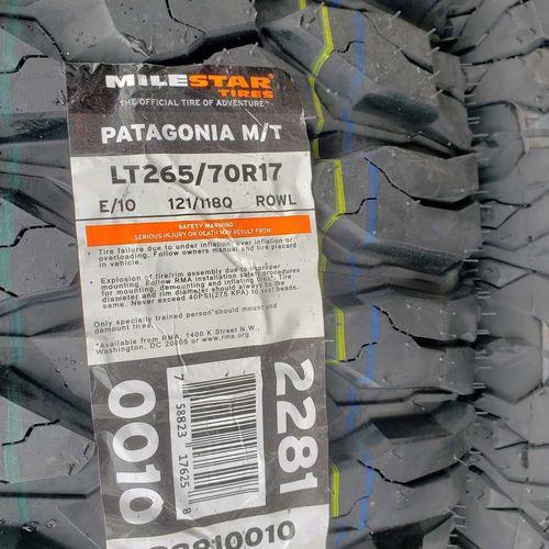 265/70r17 milestar Patagonia mt for sale in Salt Lake City , UT
