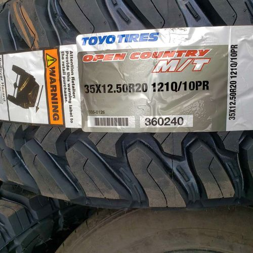 35x12.50r20 toyo open country mt for sale in Salt Lake City , UT