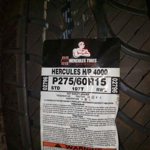 275/60r15 Hercules hp 4000 for sale in Salt Lake City , UT