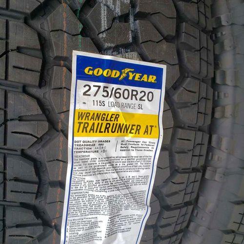 275/60r20 goodyear wrangler trailruner at for sale in Salt Lake City , UT