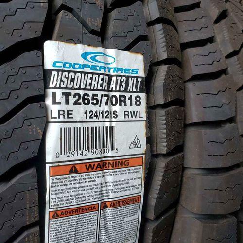 265/70r18 cooper discoverer at3 xlt for sale in Salt Lake City , UT