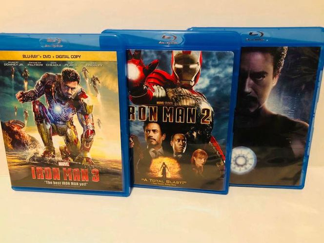 IRON MAN TRILOGY, Bluray, all 3 for $20 for sale in Herriman , UT