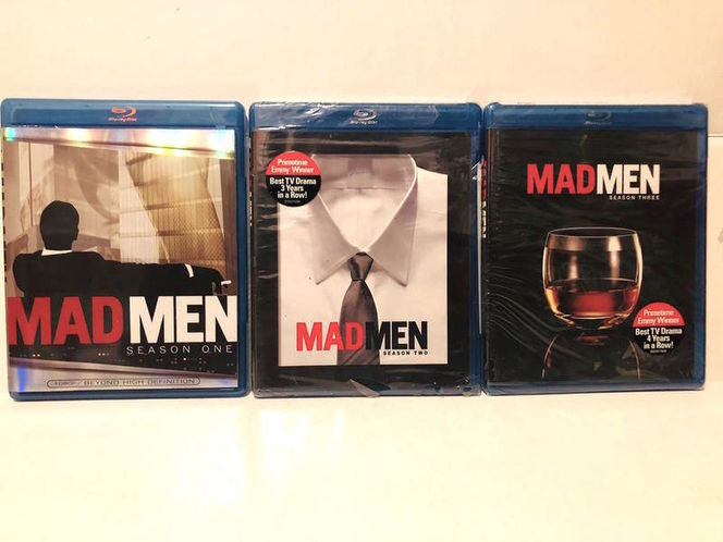 MADMEN seasons 1, 2.,& 3.  Last two are new/sealed for sale in Herriman , UT