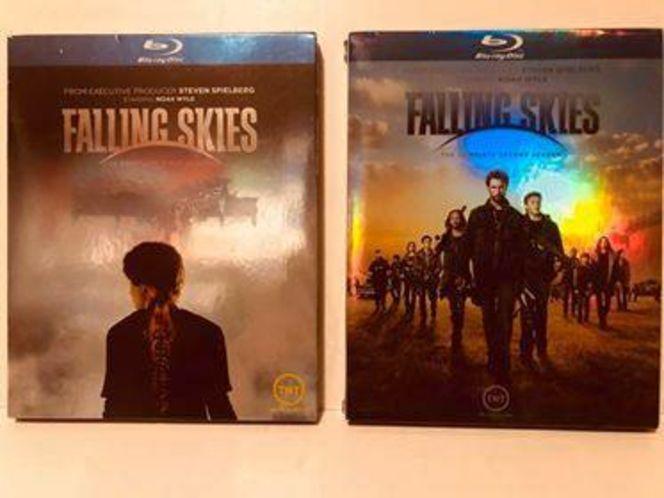 FALLING SKIES, season 1 & 2 in BLURAY (opened) for sale in Herriman , UT
