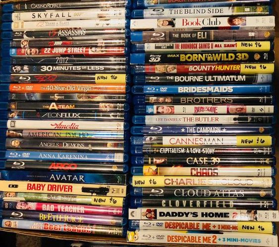 Over 260 BLURAYS, in excellent condition (opened) no scratches for sale in Herriman , UT