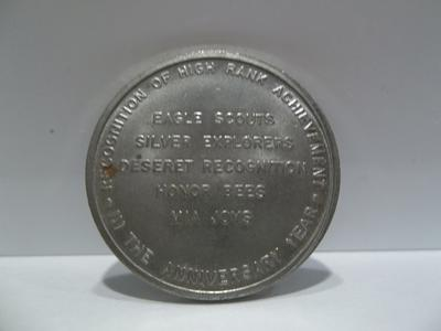 1953 LDS 40th Anniversary Scouting Coin