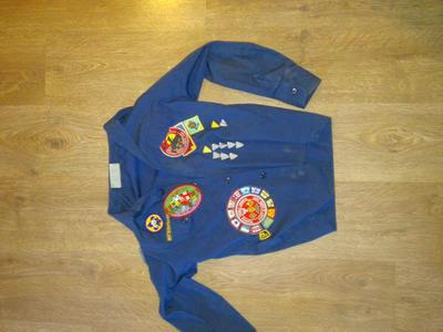 Cub scout shirt size medium