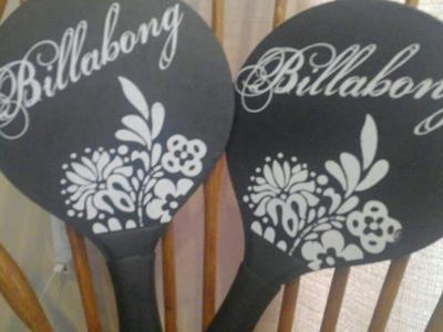 Billabong paddles