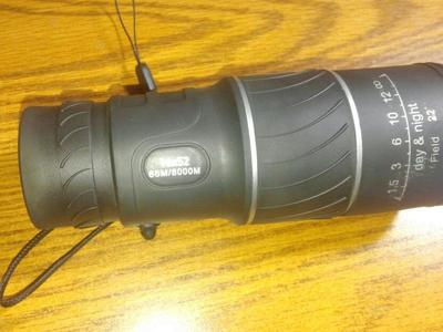 Brand new spotting scope