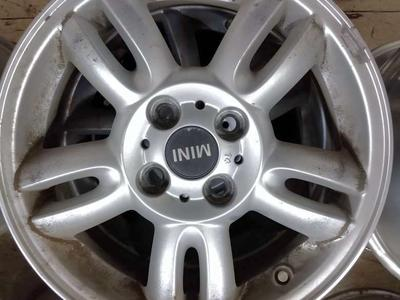 "4 15"" Mini Cooper wheels used"