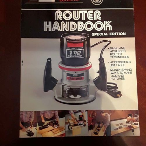 Router handbook 233 Pages for sale in Ogden , UT