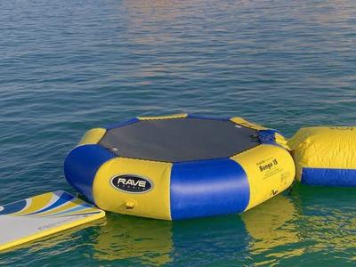 FOR RENT Water Trampoline w/ Launcher & Float-pad.
