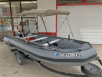 15.5fT. Raft Boat -Fishing & Camping- 25 HP Motor