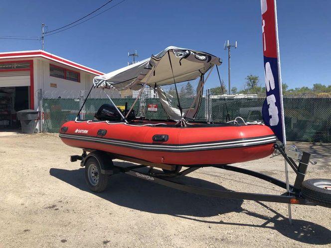 Saturn Boat/Raft - Fishing Camping etc 20 HP Motor for rent in Copperton , UT