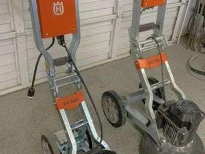 Concrete Grinders, Dust Vacuum, and Generator Package FOR SALE