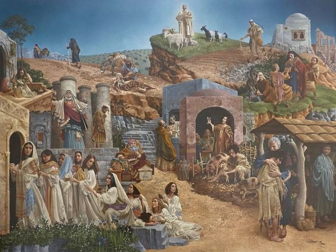 Parables by James Christensen large MasterWork #25 for sale in Orem , UT