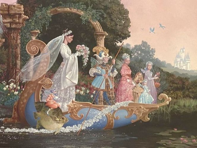 The Bride by James Christensen (canvas) for sale in Orem , UT