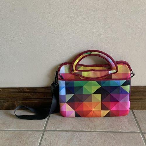 IE Multicolored Geometric Laptop Case Bag  for sale in Herriman , UT
