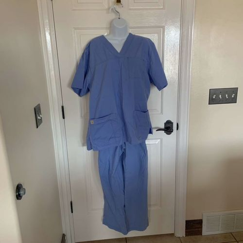 Carhartt Blue Scrubs Unisex Size Large  for sale in Herriman , UT
