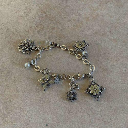 Brighton Snowflake Bracelet with Pearls for sale in Herriman , UT