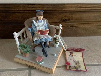 Hallmark American Girl Samantha Figurine Bookend