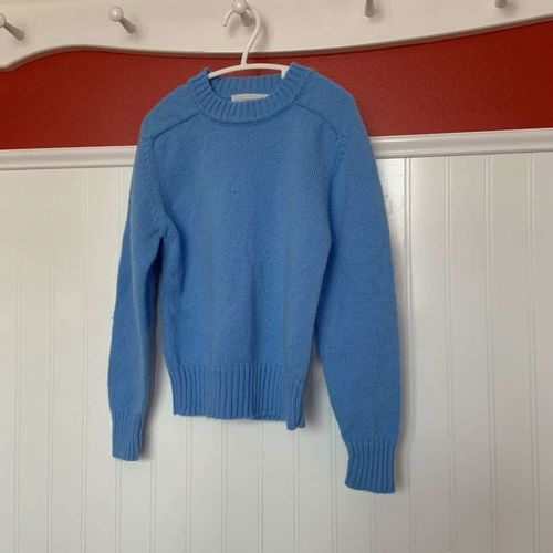 The Boys Shop Blue crew Neck Sweater Size 7 for sale in Herriman , UT