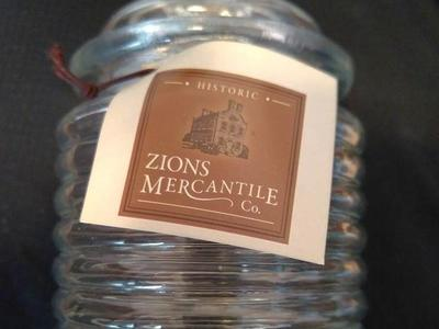 Zions Mercantile Honey Jar