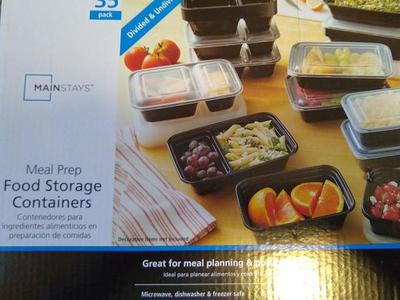 Brand New Reusable Food Storage Containers