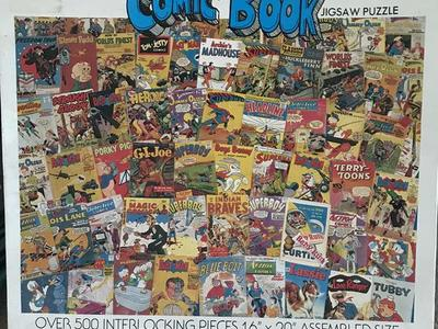 Comic Book Puzzel