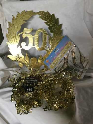 50th anniversary deco for sale in Midvale , UT