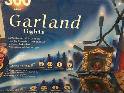 Garland Christmas light
