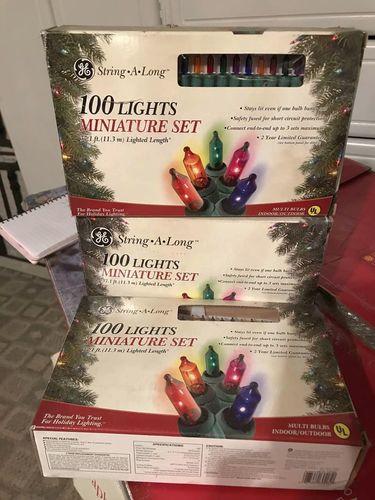 GE String Along Christmas lights for sale in Midvale , UT