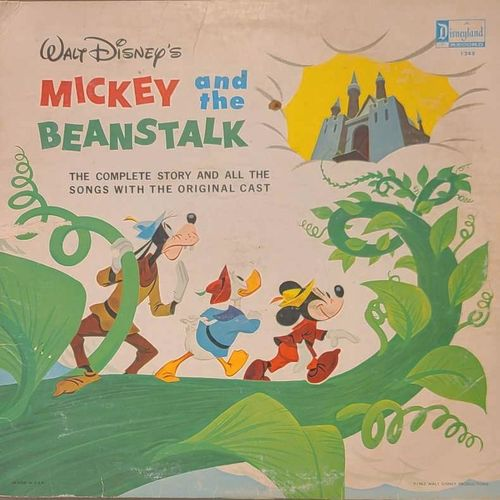 Original Mickey and the beanstalk 1963 record for sale in Clinton , UT