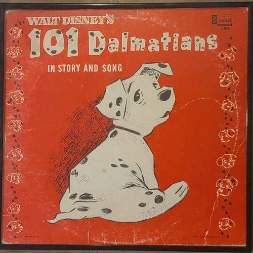 Original 1963 101 Dalmatians framed record  for sale in Clinton , UT