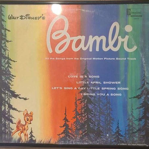 Original 1963 Bambi record framed for sale in Clinton , UT