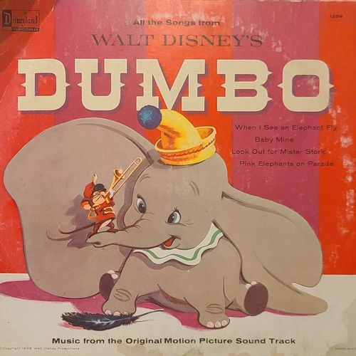 Dumbo (record sleeve only) for sale in Clinton , UT