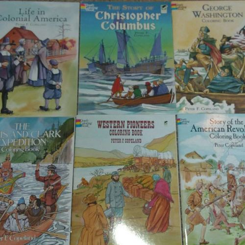 6 Detailed History Coloring Books for sale in Lindon , UT