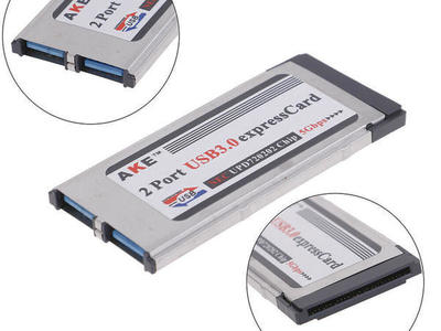 "Macbook Pro 15""17"" 2 Port USB 3.0 Expresscard 34mm"