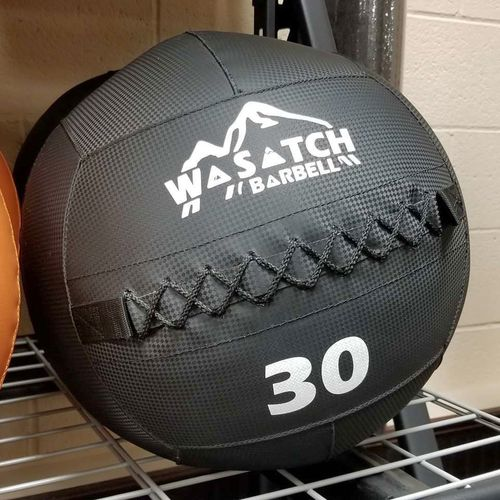 30# Wall Ball Wasatch Barbell - Anti Slip! *MBW* for sale in Midvale , UT