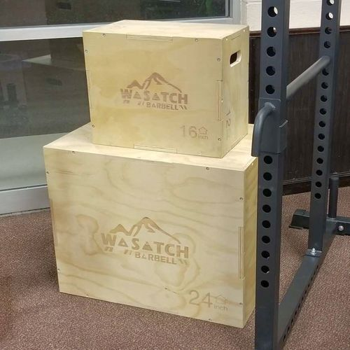 Professional Grade Plyometic 2 Box Set