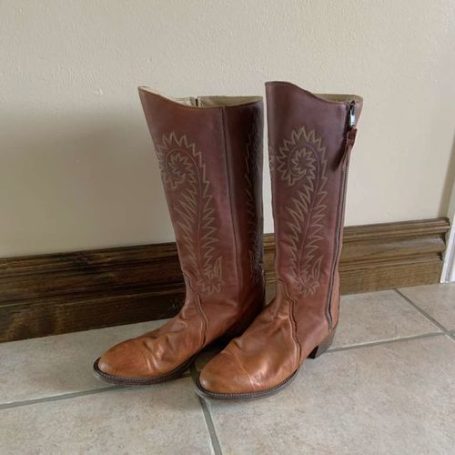 Womens Lucchese Heritage Cowboy Boots Size 8.5 for sale in Herriman , UT