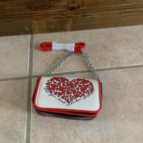 Brighton Mini Crossbody Purse Bag Red Hearts for sale in Herriman , UT