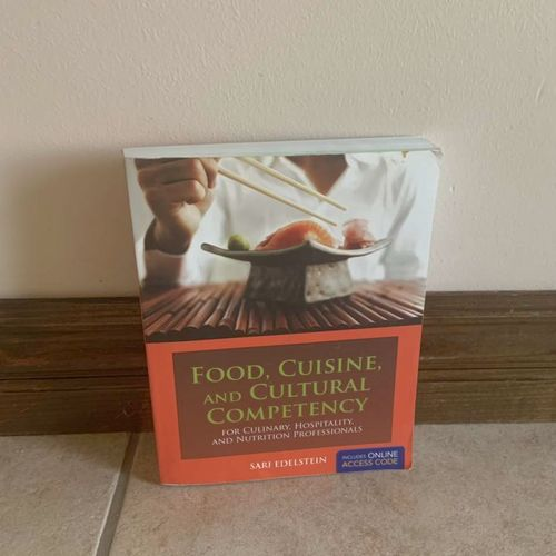Food, Cuisine, And Cultural Competency Text Book for sale in Herriman , UT