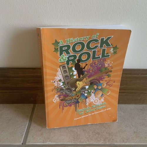 A History of Rock and Roll Eighth Edition John Co for sale in Herriman , UT