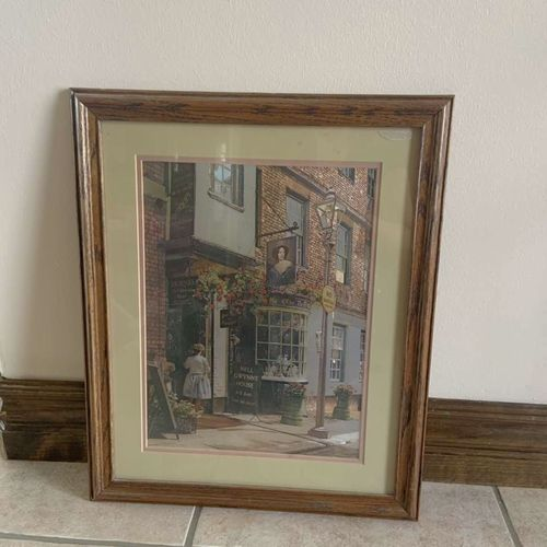 Foil Art Print Picture Nell Gwynn's House England for sale in Herriman , UT