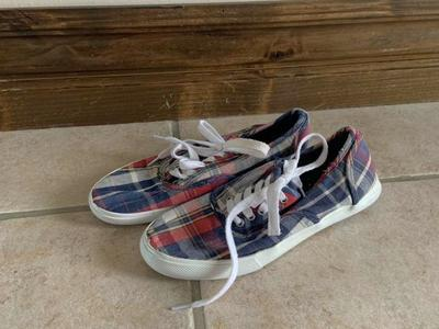 Mossimo Plaid Shoes Size 6