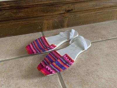 Made in Mexico Mexican Girls Shoes Size 22