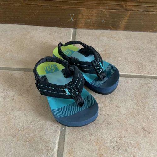 Reef  Green Blue and Black Baby Boys Sandals 3/4 for sale in Herriman , UT